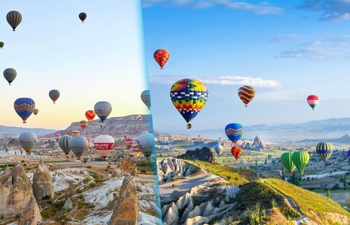 Hot-Air-Balloon-in-Cappadocia