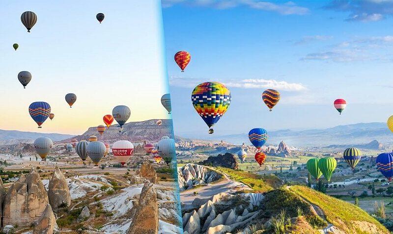 Hot-Air-Balloon-in-Cappadocia