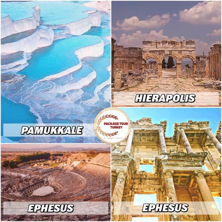 4 days ephesus and pamukkale tour