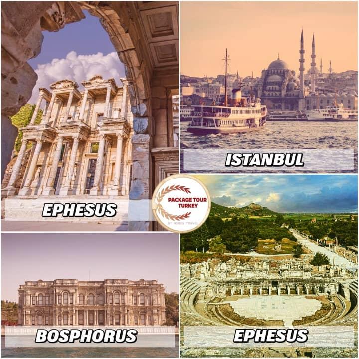 5 days istanbul and ephesus tour