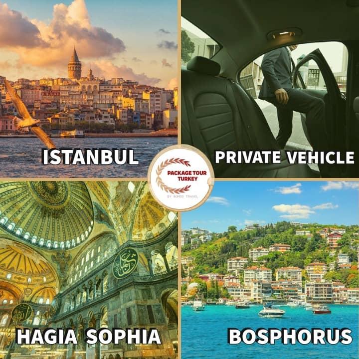 5 days luxury istanbul tour