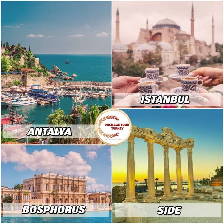 6 days istanbul and antalya tour