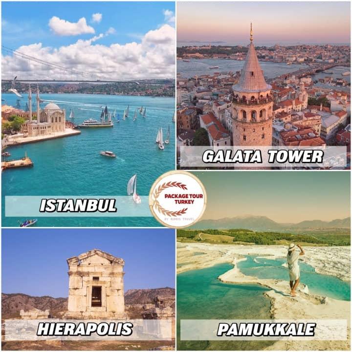 6 days istanbul and pamukkale tour