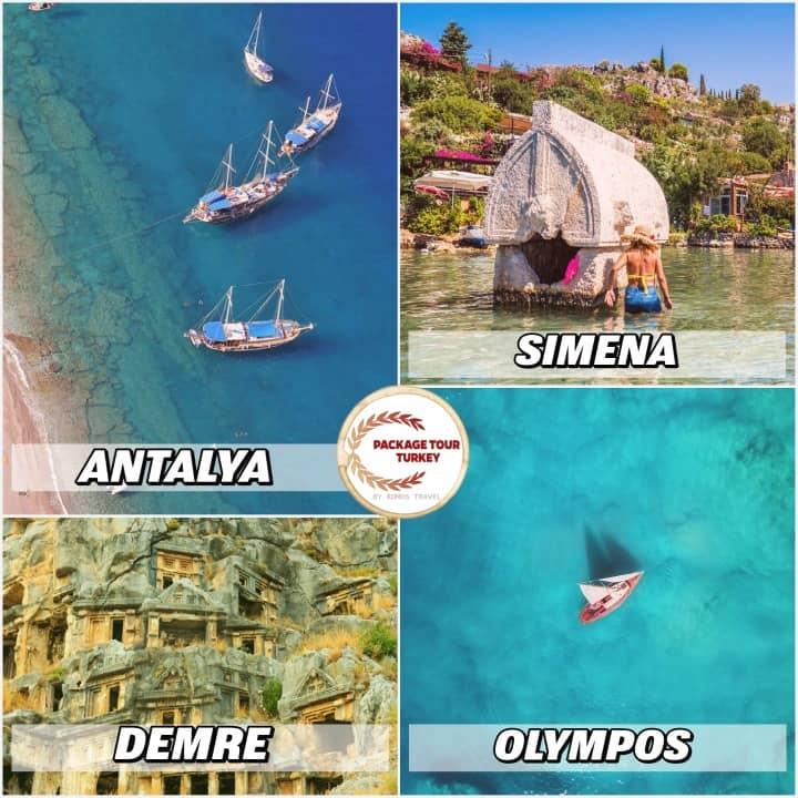 8 days antalya blue cruise
