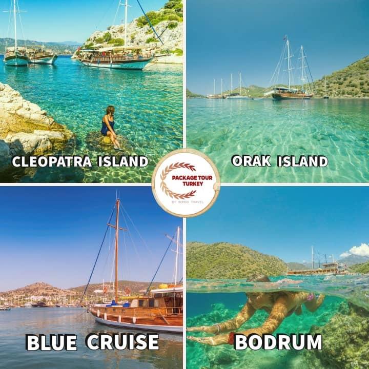8 days bodrum blue cruise tour
