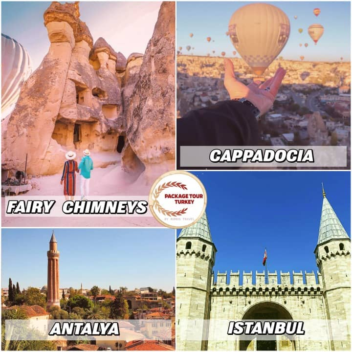8 days combined cities turkey tour