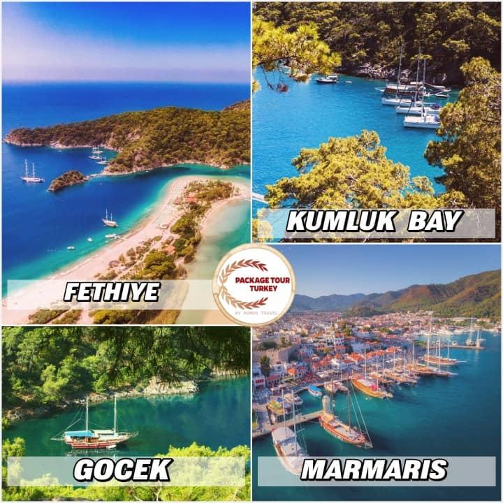 8 days marmaris blue cruise tour