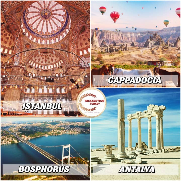 9 days combined cities turkey tour