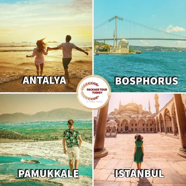 9 days turkey honeymoon tour