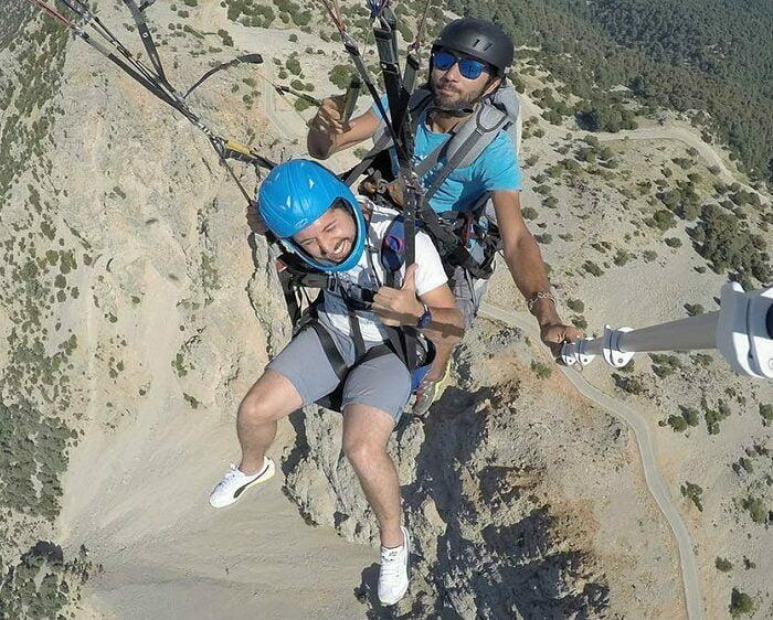 Pamukkale-Paragliding-Tour