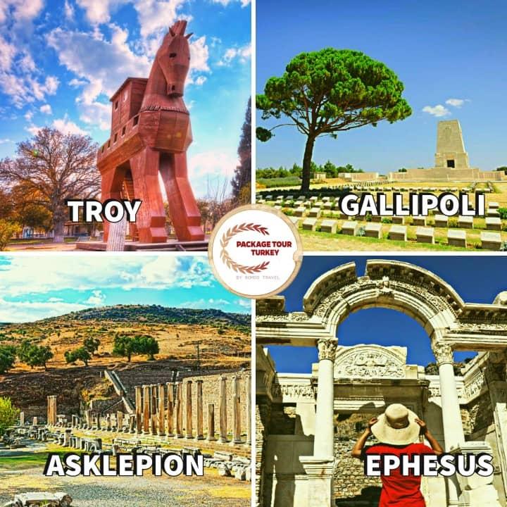 aegean sites of turkey tour