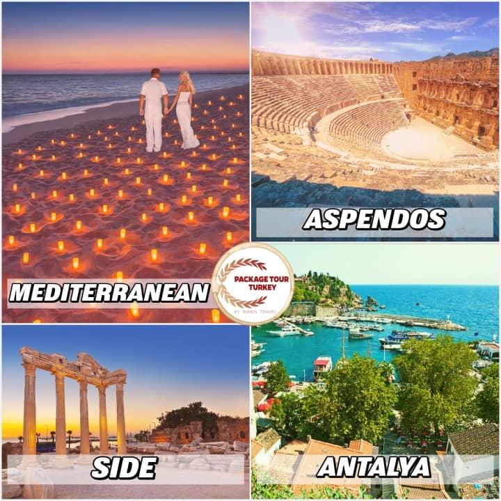 antalya honeymoon tour