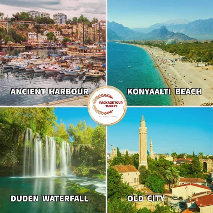 antalya tour from istanbul