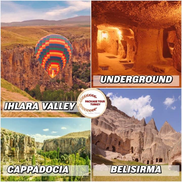 cappadocia and ihlara valley tour