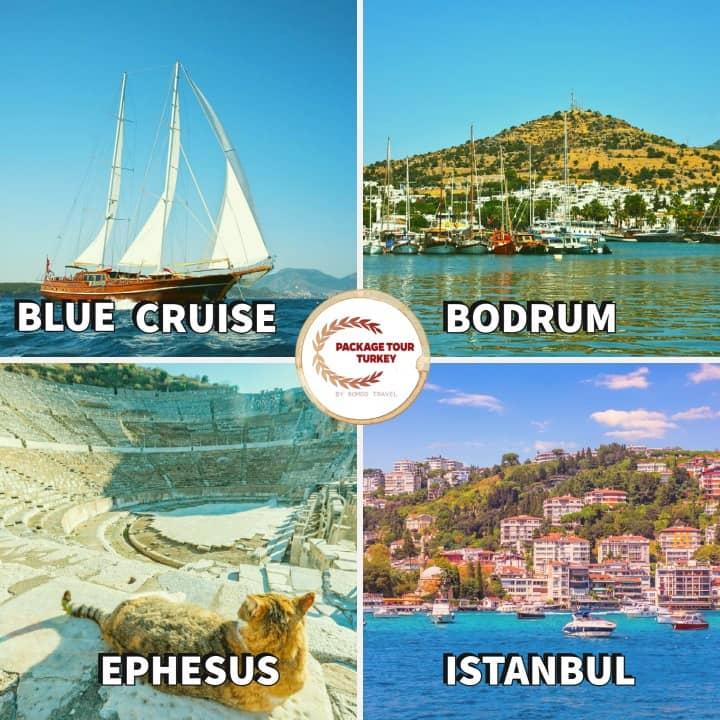 istanbul ephesus bodrum blue cruise tour
