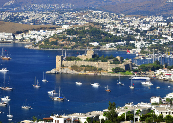 bodrum-turkey-st-peter-castle-aegean-coast