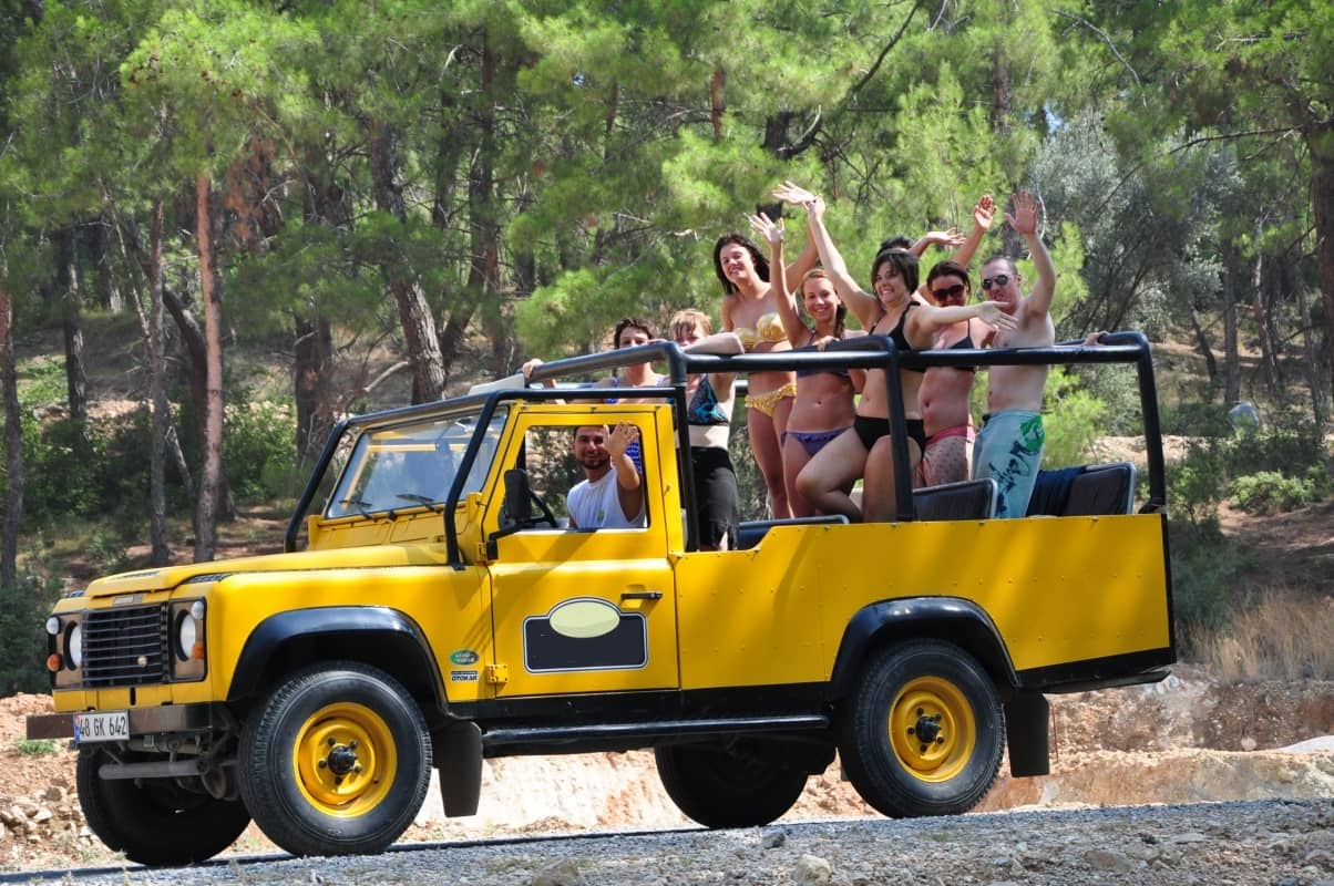 jeep safari fethiye